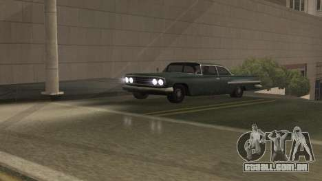 Estrada Reflexões Fix 1.0 для GTA San Andreas para GTA San Andreas por diante tela