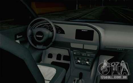 GTA 5 Obey Tailgater v2 IVF para GTA San Andreas vista direita