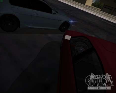 BMW 5-series E39 Vossen para o motor de GTA San Andreas