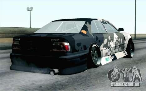 Toyota Chaser para GTA San Andreas esquerda vista