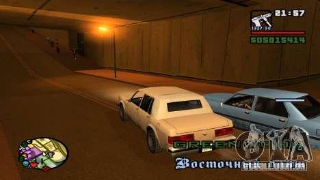 Para aumentar ou diminuir o radar em GTA V para GTA San Andreas