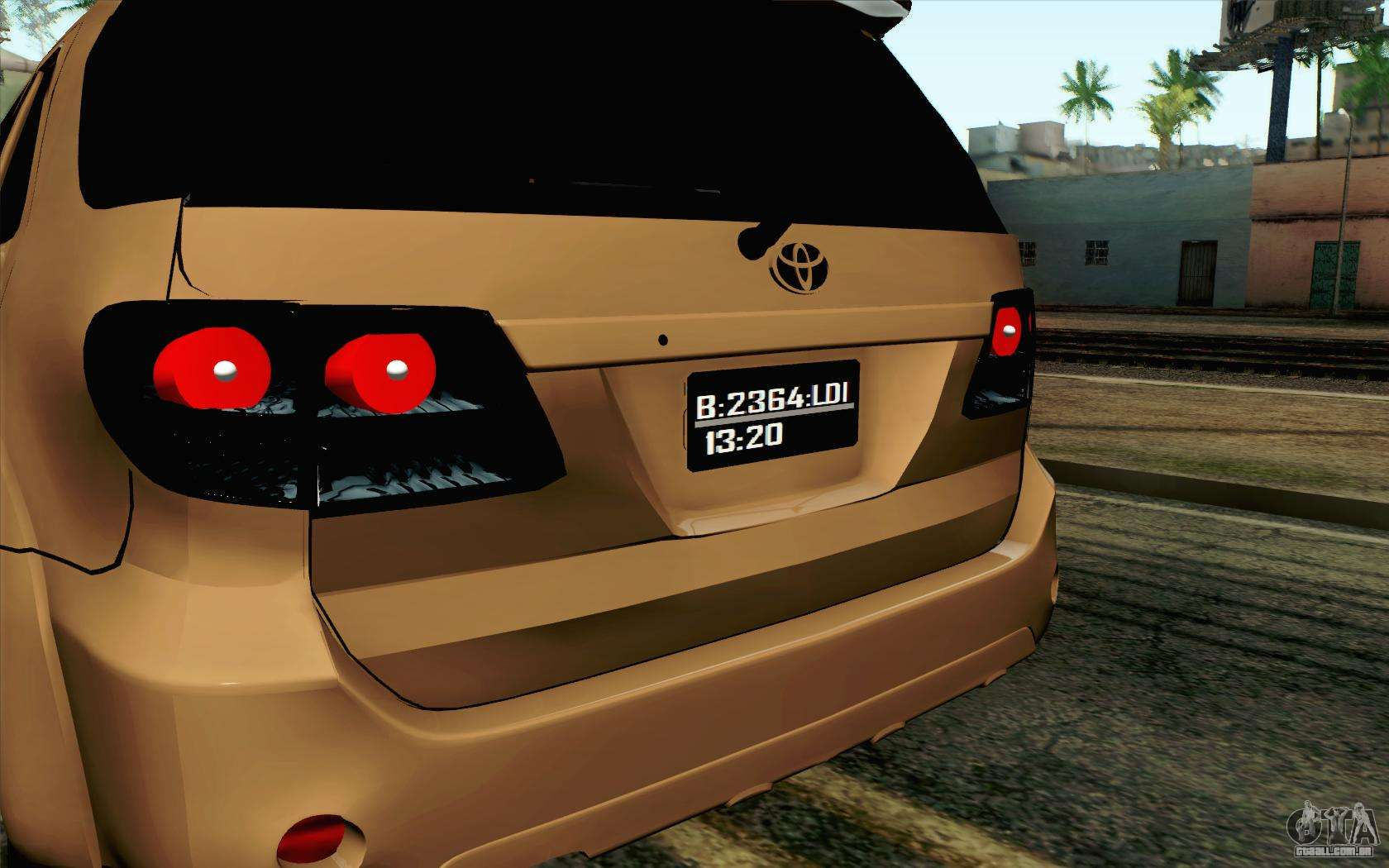 Toyota Fortuner 2014 4x4 Off Road Para Gta San Andreas