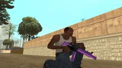 Purple Weapon Pack by Cr1meful para GTA San Andreas