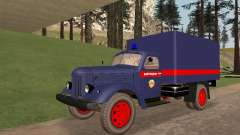 ZIL 157 polícia