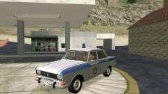 Moskvich 2140 Polícia para GTA San Andreas