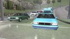 Estrada Reflexões Fix 1.0 для GTA San Andreas