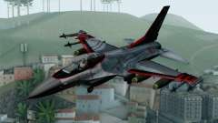 F-16 15th Fighter Squadron Windhover para GTA San Andreas