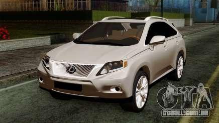Lexus RX450H v2 para GTA San Andreas