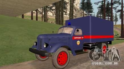 ZIL 157 polícia para GTA San Andreas
