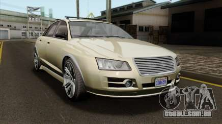 GTA 5 Obey Tailgater SA Mobile para GTA San Andreas