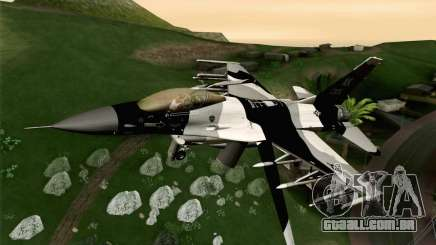 F-16C Fighting Falcon Aggressor Alaska BlackGrey para GTA San Andreas