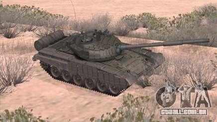 Tanque T-72B para GTA San Andreas