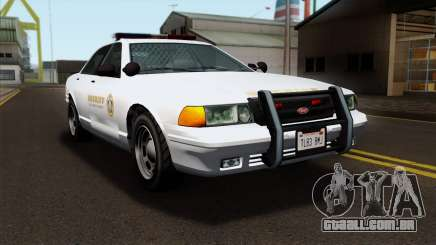 GTA 5 Vapid Stanier Sheriff SA Style para GTA San Andreas
