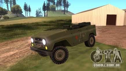 UAZ militar para GTA San Andreas