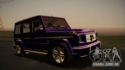 Mercedes-Benz G65 2013 Stock body para GTA San Andreas