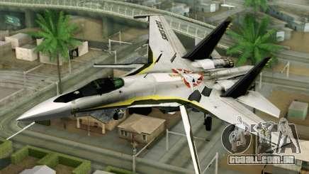 Sukhoi SU-27 Macross Frontier para GTA San Andreas