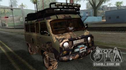 UAZ 2206 Pão para GTA San Andreas