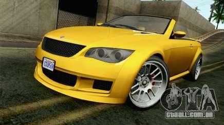 GTA 5 Ubermacht Sentinel Coupe para GTA San Andreas