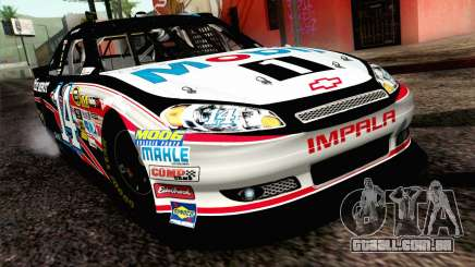 NASCAR Chevrolet Impala 2012 Plate Track para GTA San Andreas