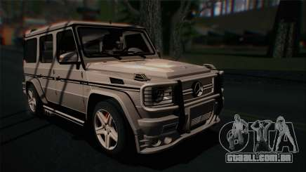 Mercedes-Benz G65 2013 Hamann Body para GTA San Andreas