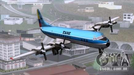L-188 Electra TAME para GTA San Andreas