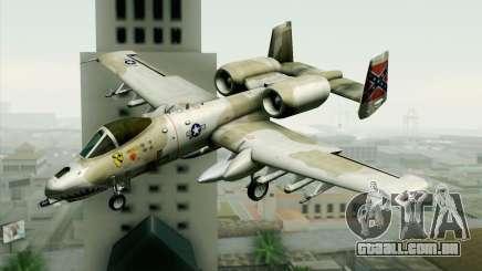 A-10 Desert Camo para GTA San Andreas