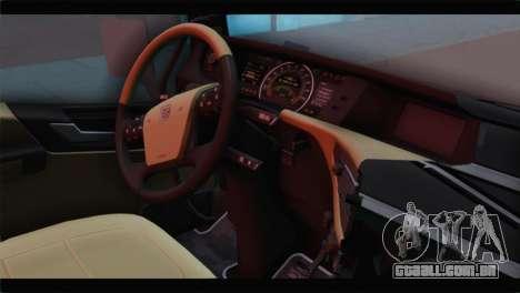 Volvo FH4 para GTA San Andreas vista direita