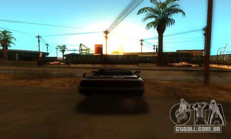 ENB 1.5 & Wonder Timecyc para GTA San Andreas quinto tela