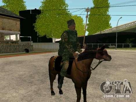 Kuban Cossaco para GTA San Andreas nono tela