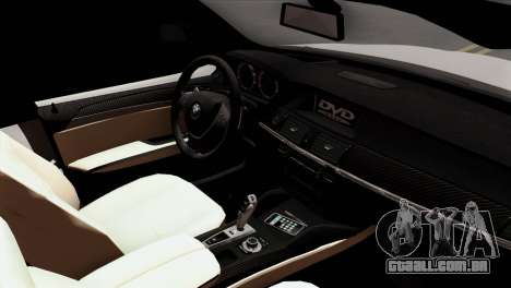 BMW X3 F25 2012 para GTA San Andreas vista direita