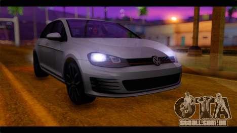 Volkswagen Golf 7 para GTA San Andreas