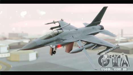 F-16A Republic of Korea Air Force para GTA San Andreas