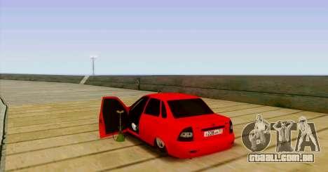 VAZ 2170 O БПАN para GTA San Andreas vista traseira