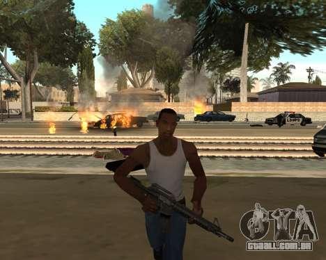 Good Effects v1.1 para GTA San Andreas por diante tela