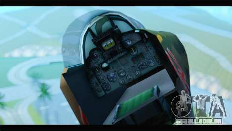 MIG-23ML Yuktobanian Air Force para GTA San Andreas vista direita