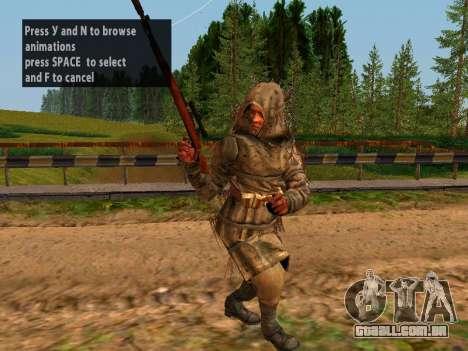 Soviética Sniper para GTA San Andreas quinto tela