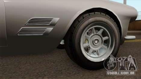 GTA 5 Lampadati Casco IVF para GTA San Andreas traseira esquerda vista