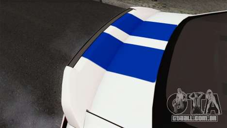 Ford Shelby 2014 para GTA San Andreas vista traseira