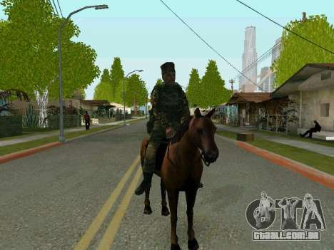 Kuban Cossaco para GTA San Andreas terceira tela
