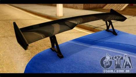 Infernus Rapide GTS para GTA San Andreas vista direita