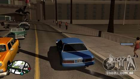 Novo tom, sem perder FPS para GTA San Andreas segunda tela