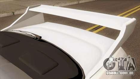 Nissan Skyline R33 Drift JDM para GTA San Andreas vista traseira