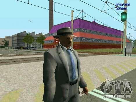 Nikita Khrushchev Sergeyevich para GTA San Andreas terceira tela