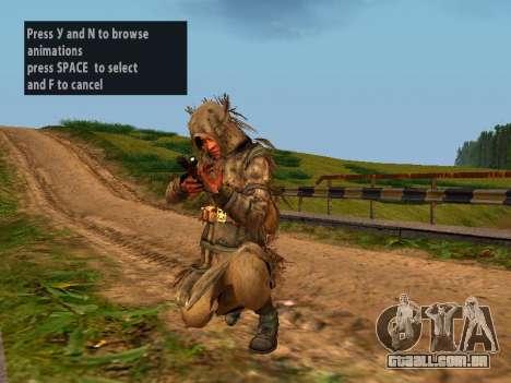 Soviética Sniper para GTA San Andreas sexta tela