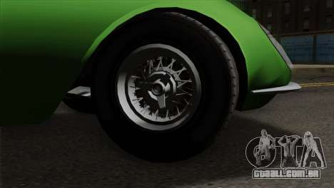 GTA 5 Grotti Stinger GT v2 para GTA San Andreas traseira esquerda vista