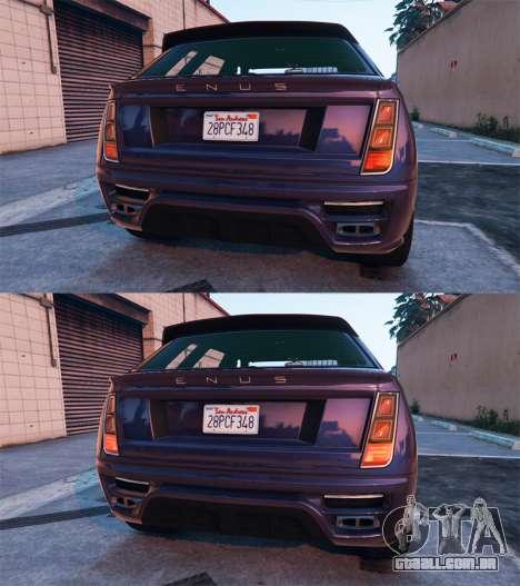 Condução para GTA 5