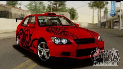 Lexus IS300 Tunable para GTA San Andreas