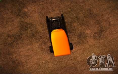Ford Model A Hot-Rod para GTA San Andreas vista direita