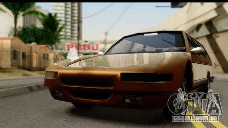 Regina with Infernus face para GTA San Andreas traseira esquerda vista