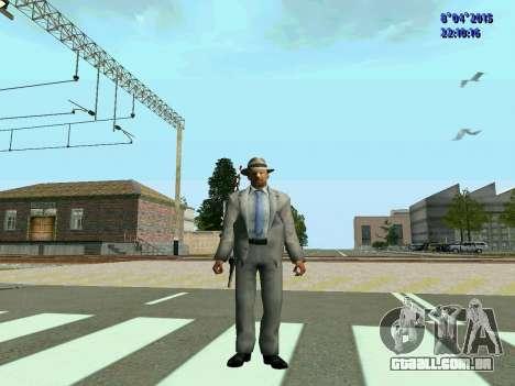 Nikita Khrushchev Sergeyevich para GTA San Andreas quinto tela